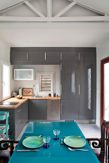 Maison dp clamart contemporary kitchen paris by olivier chabaud architecte - Maison ancienne renovee olivier chabaud ...