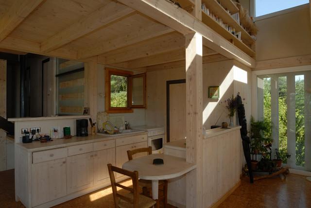 maison cologique de jos bov contemporain cuisine toulouse par patrick ballester co. Black Bedroom Furniture Sets. Home Design Ideas