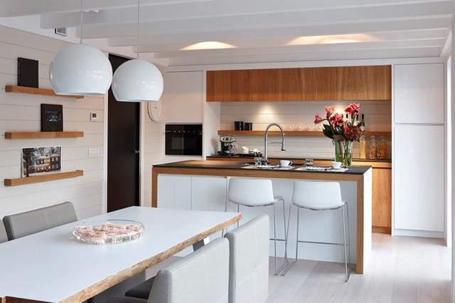maison expo de waregem b landhausstil k che paris von semin construction mi casa. Black Bedroom Furniture Sets. Home Design Ideas