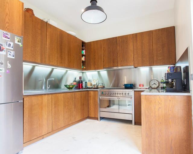 Gu a de materiales y precios para el frente de encimera de - Materiales encimeras cocina ...