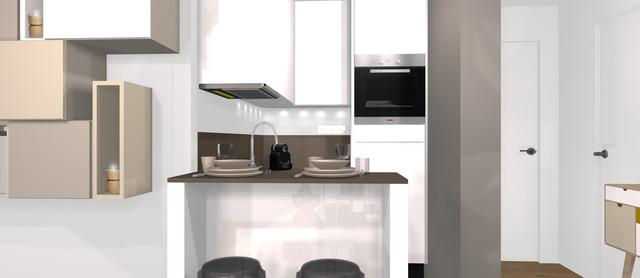Micro-Cuisine Design - 2m2 - Paris