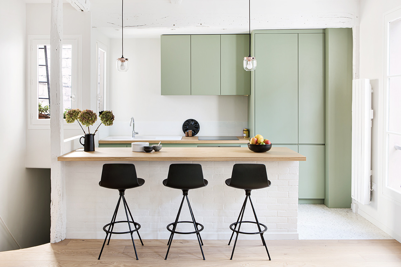 75 Beautiful Galley Kitchen With A Peninsula Pictures Ideas January 2021 Houzz