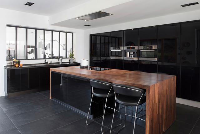 Nos Realisations De Cuisines Contemporary Kitchen Lyon By
