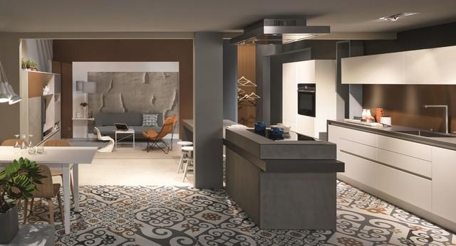 nouveaut s cuisine 2015 moderne cuisine lyon par cuisine essentiel. Black Bedroom Furniture Sets. Home Design Ideas
