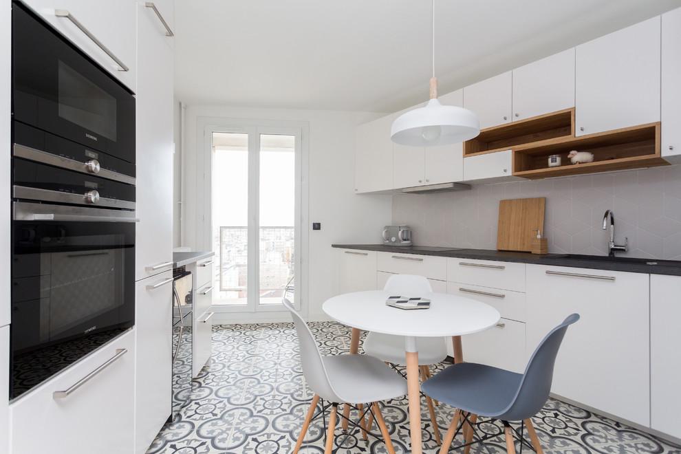 Paris 17 Bessieres Modern Kitchen Paris By Mon Concept Habitation