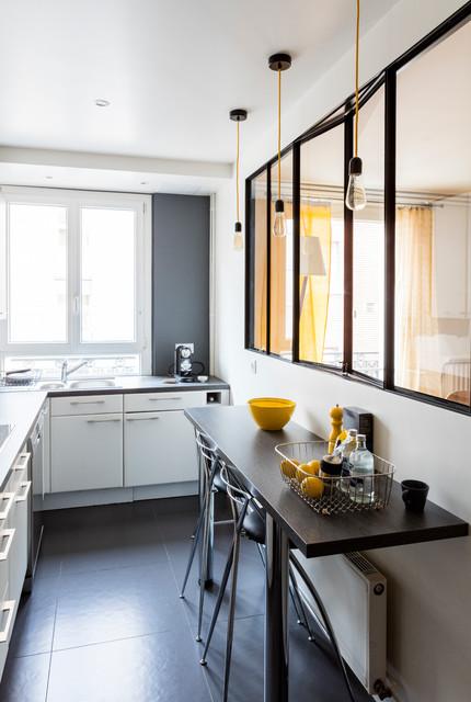 Paris-ci Monsieur Haussmann contemporain-cuisine