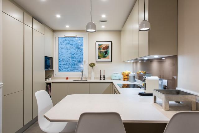 Petite Cuisine GD Cucine Comme Une Niche Dans Le Salon - La cuisine dans le bain