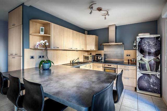 photographie d 39 int rieur contemporain cuisine montpellier par philippe pasdeloup. Black Bedroom Furniture Sets. Home Design Ideas