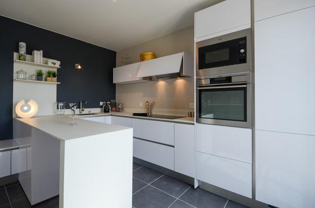 Photographies maison t moin moderne cuisine nantes for Houzz cuisine moderne
