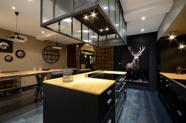 photographies pour le cuisiniste barbry moderne cuisine other metro par visite 360 pro. Black Bedroom Furniture Sets. Home Design Ideas