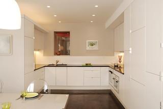place de clichy paris 17 contemporain cuisine paris par atelier sylvie cahen. Black Bedroom Furniture Sets. Home Design Ideas