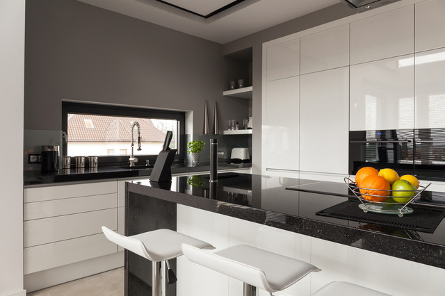 Plan De Travail En Granit Galaxy Contemporary Kitchen Paris