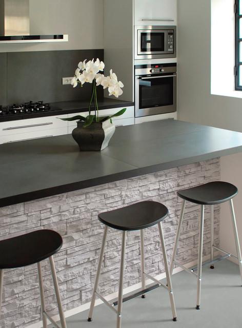 plaquette de parement en b ton aspect pierre. Black Bedroom Furniture Sets. Home Design Ideas