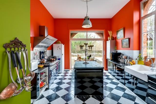 portfolio eclectic kitchen paris by meero. Black Bedroom Furniture Sets. Home Design Ideas