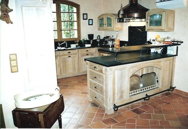 R alisation d 39 une cuisine int gr e en ch ne c rus for Meubles cuisine integree