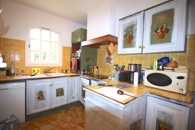 relooking cuisine beton cire avant apres. Black Bedroom Furniture Sets. Home Design Ideas