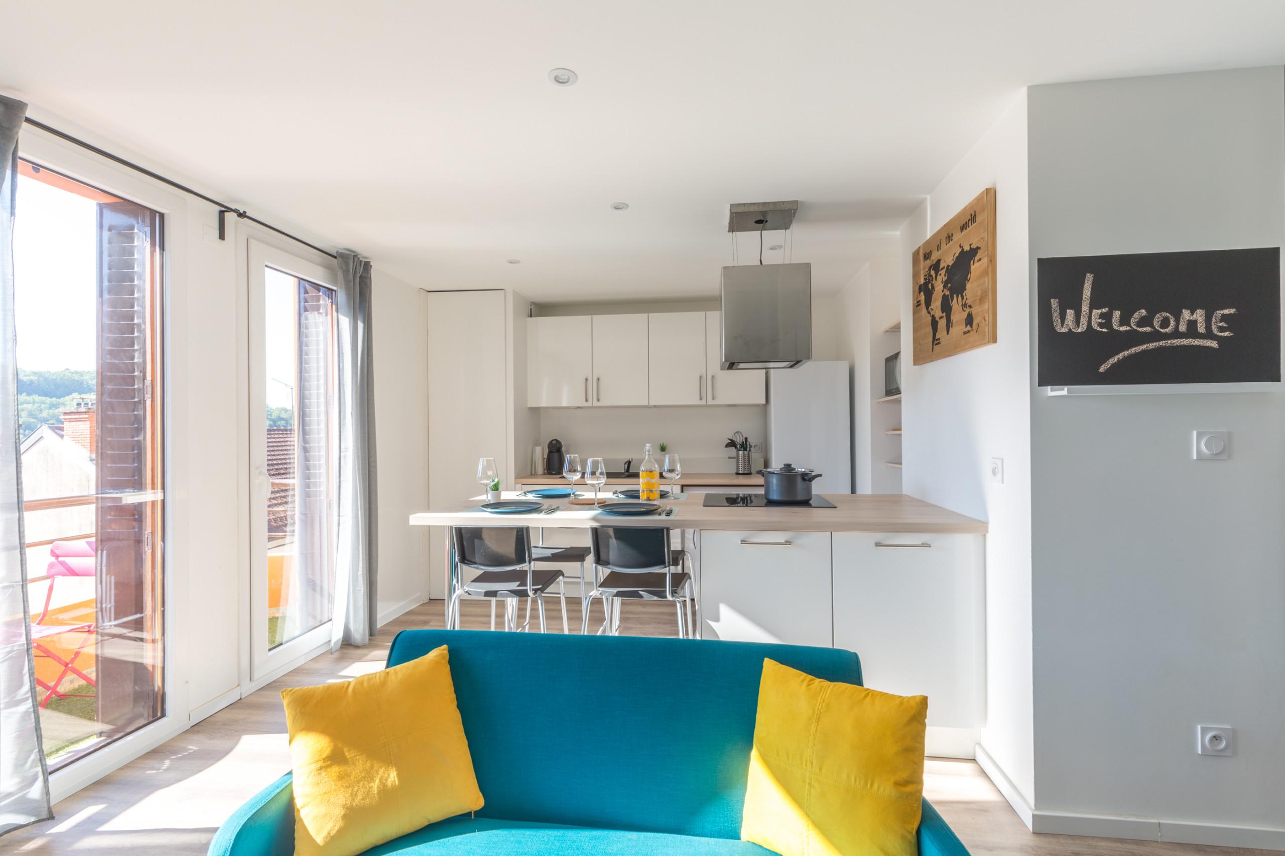renovation appartement / salon cuisine