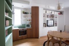 Avant/Après : Un 72 m2 parisien gagne une chambre supplémentaire