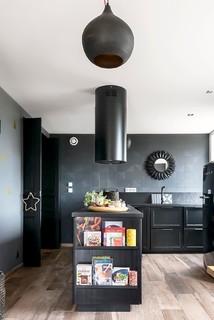 renovation complete d 39 une demeure de caractere du xixeme siecle contemporain cuisine. Black Bedroom Furniture Sets. Home Design Ideas