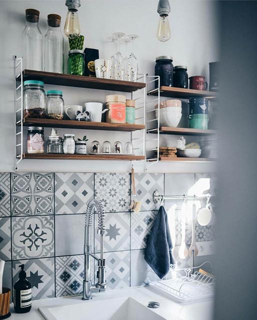 Rénovation cuisine scandinave-cuisine