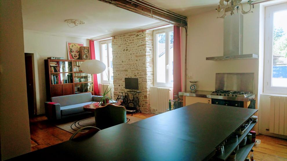 Rénovation d'un appartement en rez de jardin