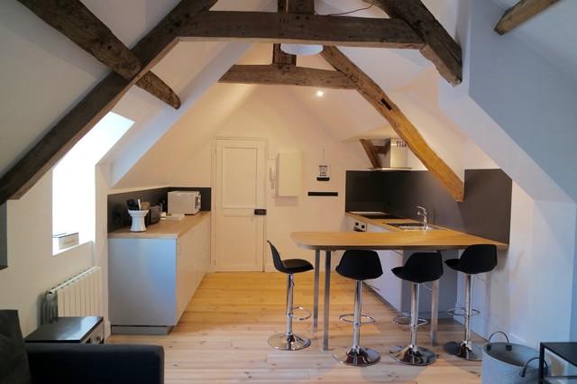 R novation d 39 un appartement sous les combles 50m2 - Appartement sous comble ...