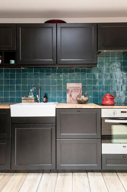 r novation d 39 une maison de ville boulogne billancourt modern k che paris von olivier. Black Bedroom Furniture Sets. Home Design Ideas