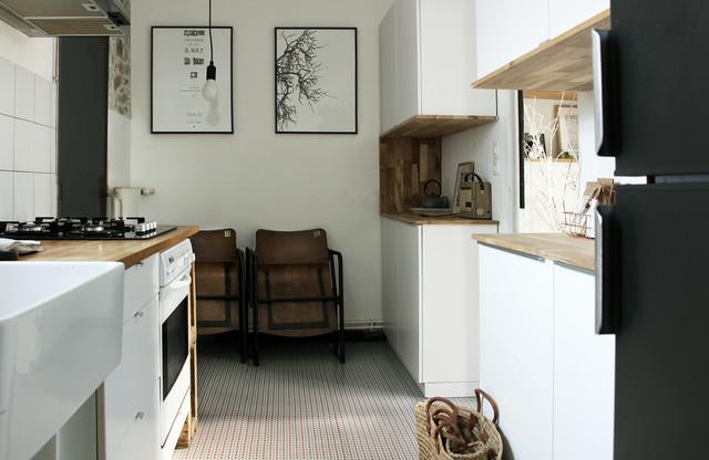 厨房细节混搭风格装修图片