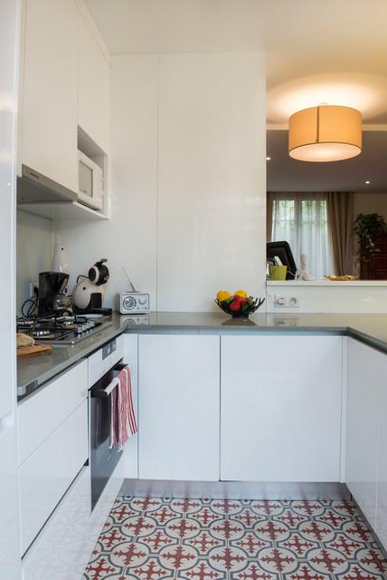 r novation d 39 une maison en meuli re contemporain cuisine paris par adc l 39 atelier d 39 c t. Black Bedroom Furniture Sets. Home Design Ideas