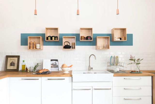 R novation d coration maison bourgeoise scandinavian kitchen other metr - Decoration maison bourgeoise ...