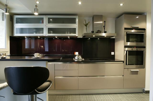 R novation et am nagement appartement parisien de 56m2 for Cuisine d appartement