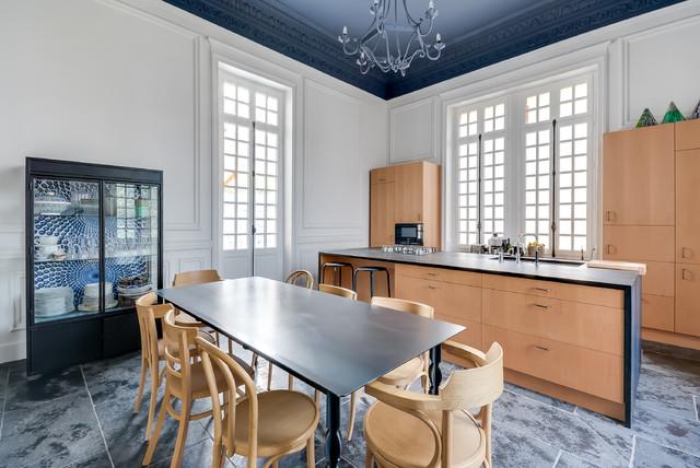 R novation parc de la malmaison contemporain cuisine paris par villa rosemont - Parc de la malmaison ...