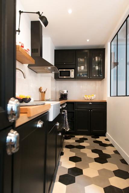 le 36n scandinave cuisine paris par stephan bidoux studio. Black Bedroom Furniture Sets. Home Design Ideas