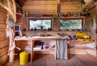 Petite cuisine montagne : Photos et idées déco de cuisines