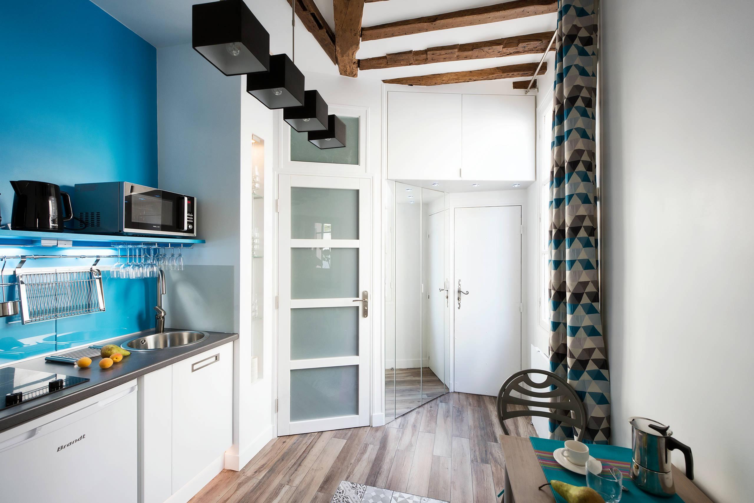 Kleine Küchen im Flur 12 clevere Einbau Lösungen