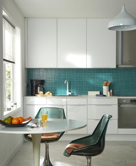 Une cuisine moderne et épurée - Modern - Küche - Lille - von ...