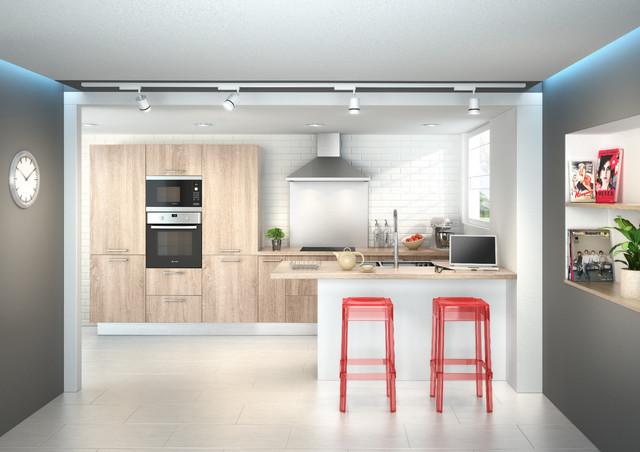 urban soft contemporain cuisine brest par cuisine plus officiel. Black Bedroom Furniture Sets. Home Design Ideas