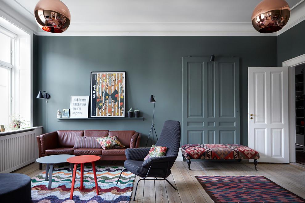 Design ideas for a scandi living room in Copenhagen.