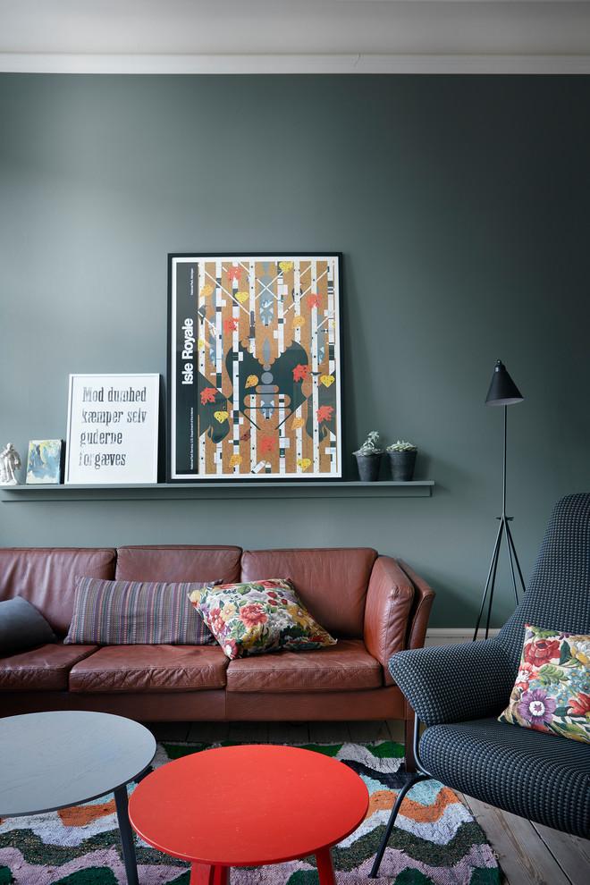 Photo of a scandinavian living room in Copenhagen.