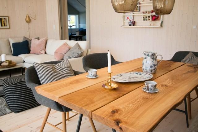 Indretning af sommerhus i samarbejde med Kalmar-huse