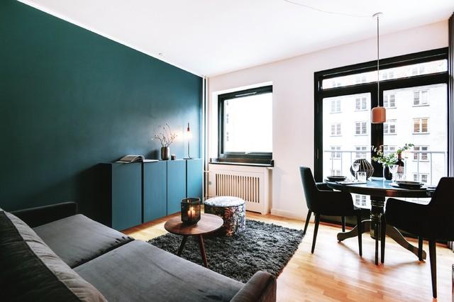 7 tipps wie sie kleine r ume mit farbe gestalten k nnen. Black Bedroom Furniture Sets. Home Design Ideas