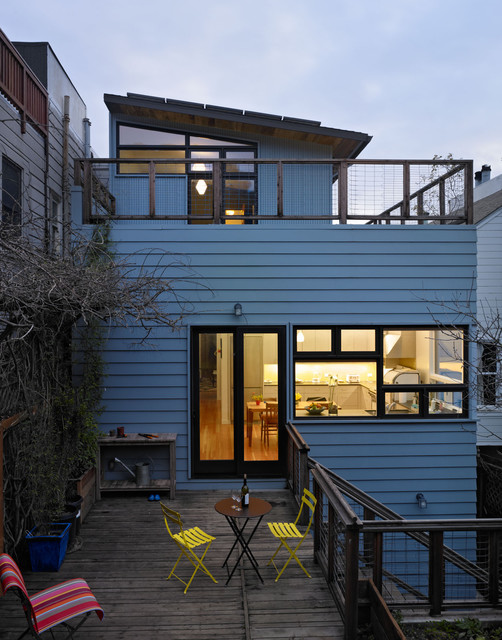 18th contemporary deck san francisco by chr dauer architects for 18th floor balcony live