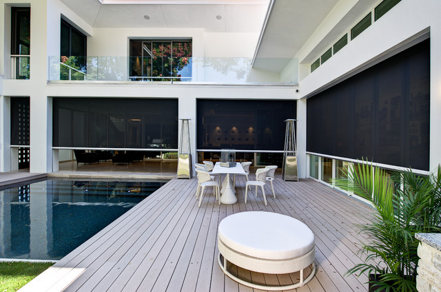 2012 New American Home Contemporary Deck By Phil