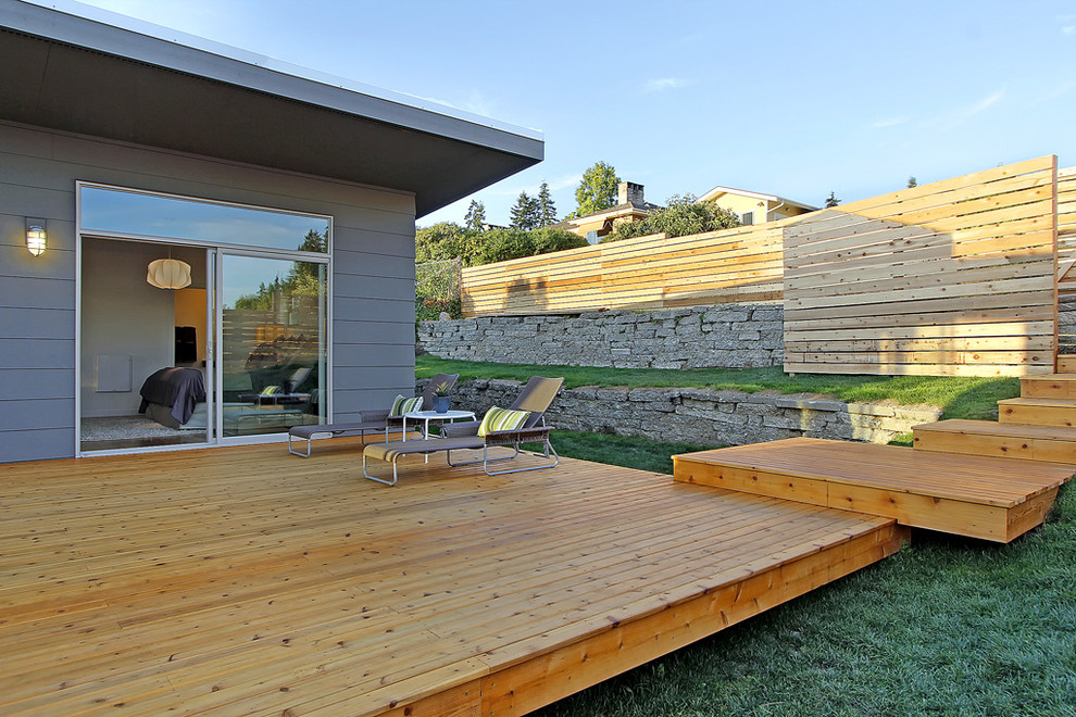 20130822 Broadview Mid Century Modern Midcentury Deck Seattle By Rd Interiors