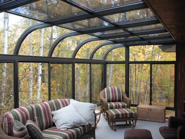 230 curve four seasons sunroom living room contemporary Four season rooms pictures
