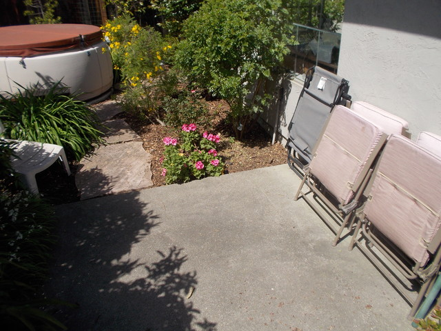 8ft X 8ft Backyard Sacred Space From Concrete Slab To Deck