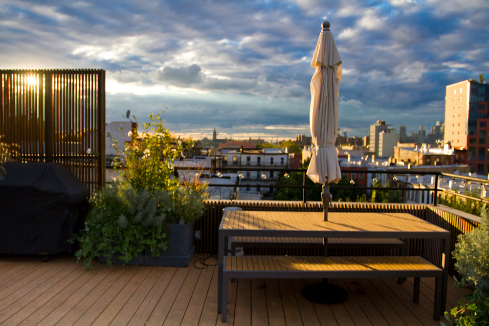A Park Slope Rooftop