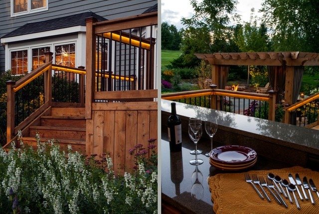 A Sunset Serenity transitional-deck