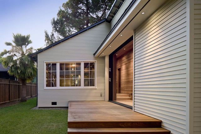 Addition/Remodel of Historic House in Palo Alto contemporary-deck