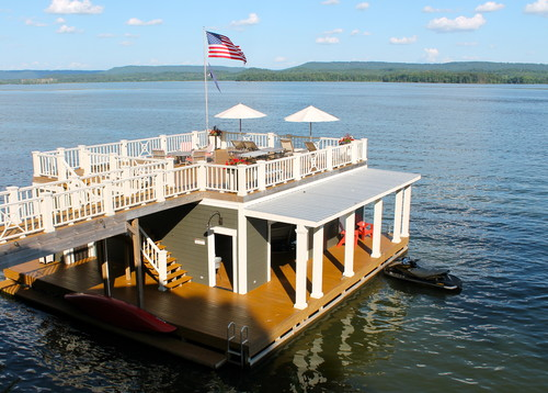 Images 8 Amazing Floating Houses That Seem Too Good To Be True (PHOTOS) | HuffPost 6 houseboats